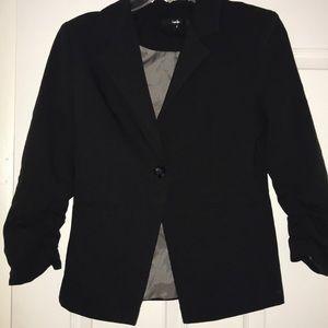 Papaya Black Blazer 3/4 Sleeve